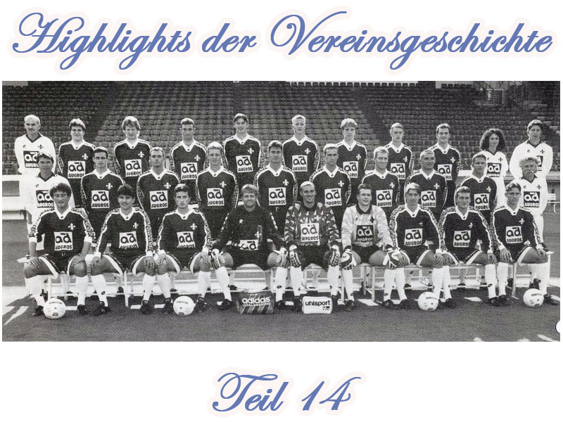Serie: Highlights der Vereinsgeschichte 14